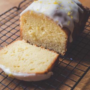 Lavender & Lemon Drizzle Cake